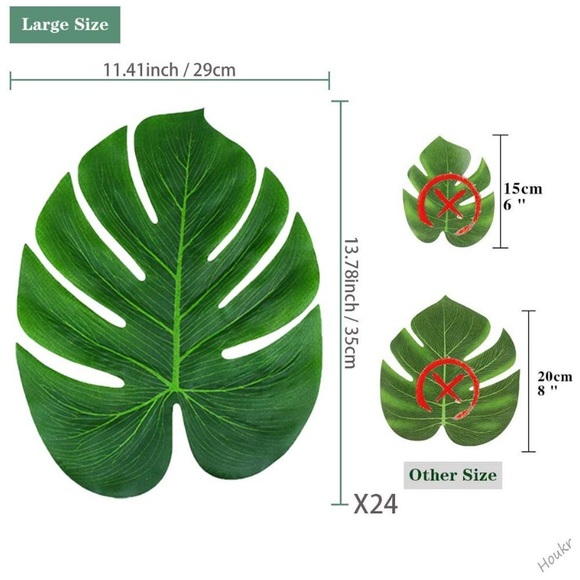 Other - Faux Monstera Leaf Placemat
